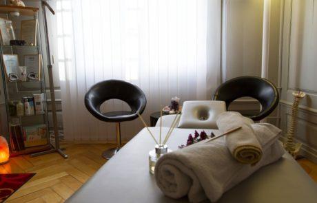 Praxis Elgg Massagetisch