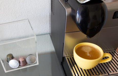 Praxis Lanz Zürich Kafeemaschine