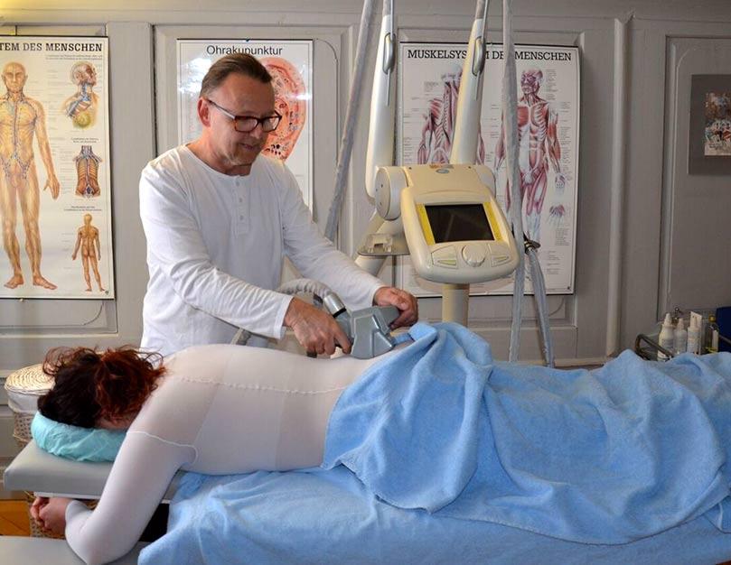 Endromologie, Cellulite-Behandlung mit LPG-Geräte